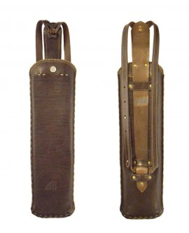 RikyBow Rückenköcher - Leder - Medium - 3 Punkt